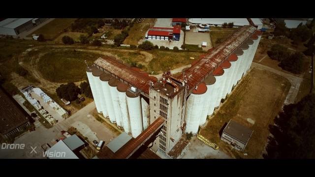 Warsaw, Poland – Post-apocalyptic grain silos