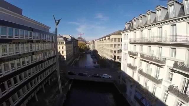 Zurich, Switzerland, Schanzengraben