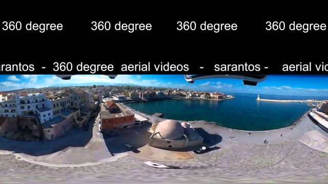 360° drone video – Hania Crete