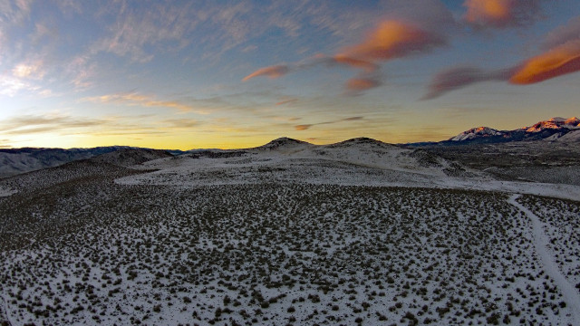 Rattle snake mountain, Reno, Nevada, USA
