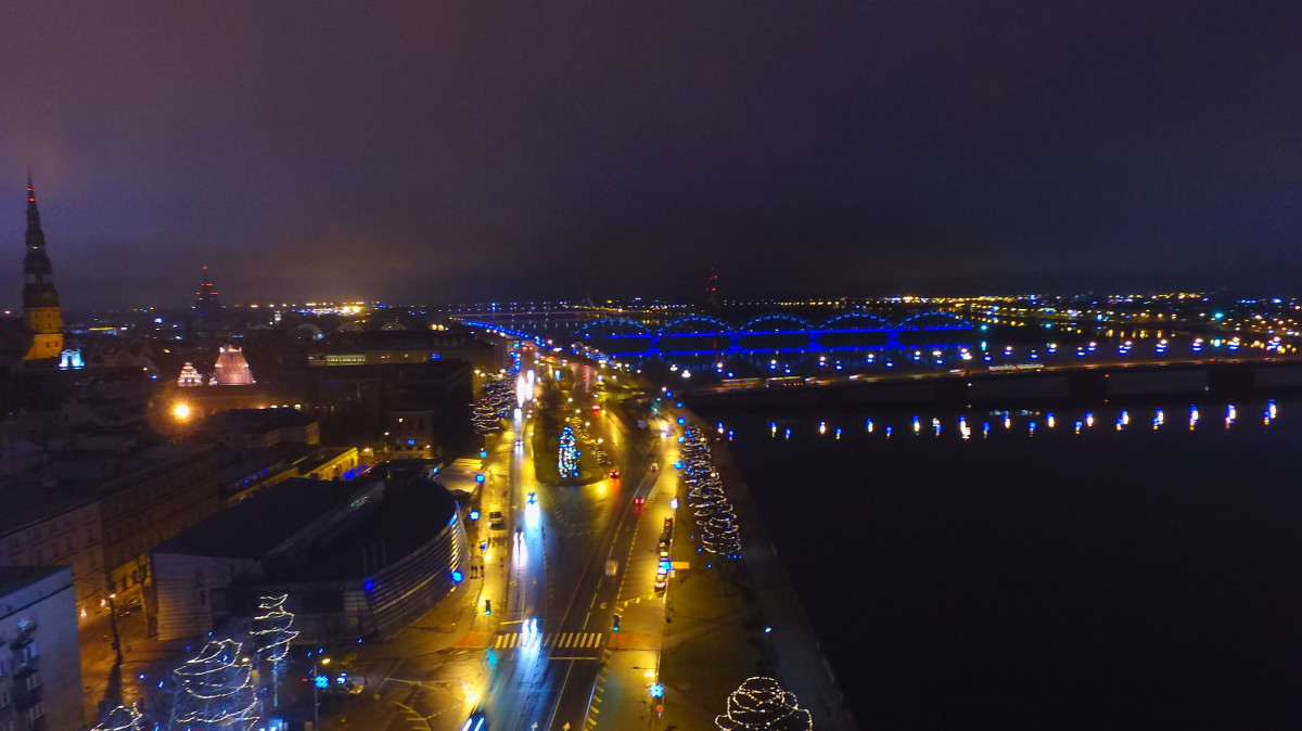 Riga, riverside before old city