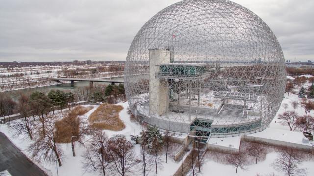 La Biosphère, Parc Jean Drapeau, Montréal, Qc, Canada
