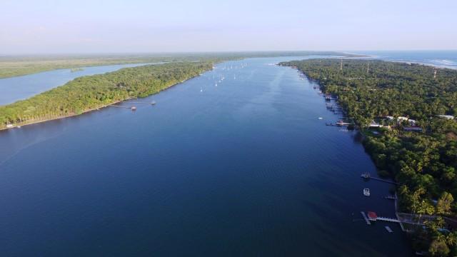 Estero de Jaltepeque, Usulutan, El Salvador.