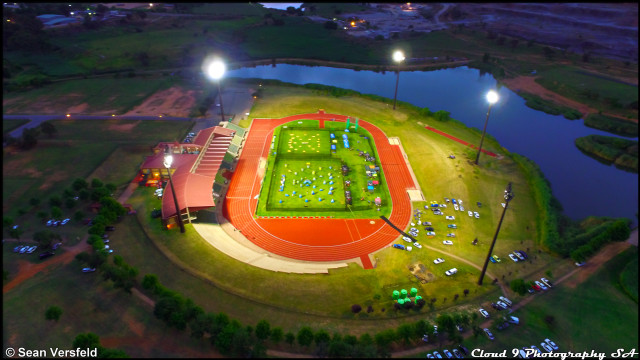 Paintball Supercup at Roodepoort Athletics Stadium