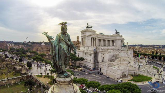 Piazza Venezia, Rome, Italy