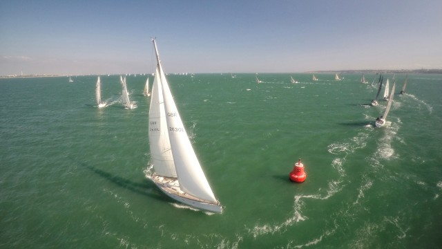 Polypipe Sailing Regatta, Gilkicker Point, Hampshire, UK