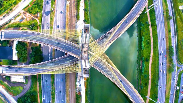 Ponte Octavio Frias de Oliveira, Sao Paulo, SP, Brasil