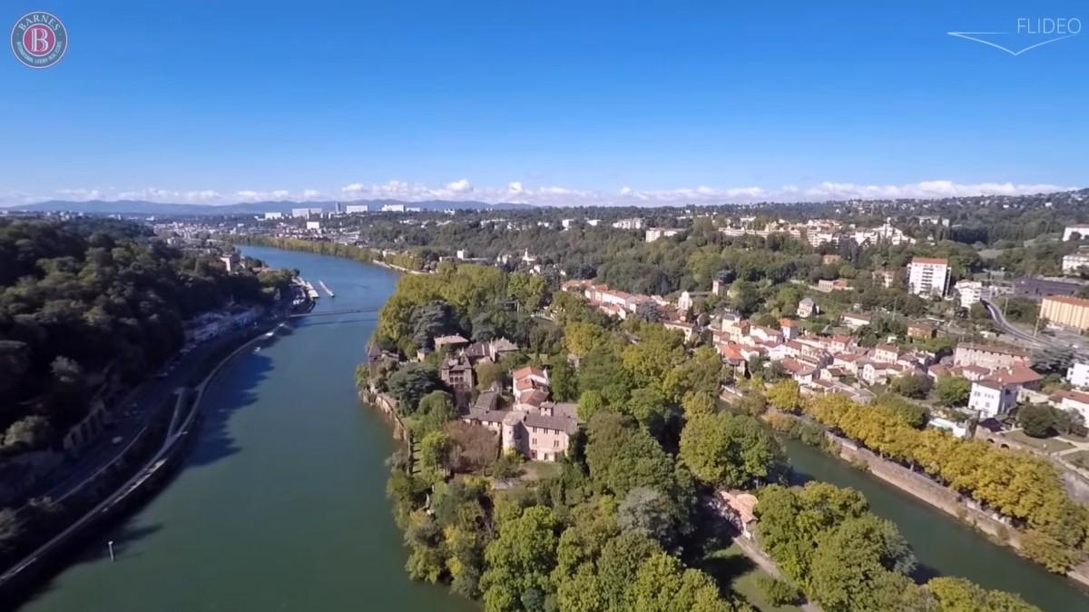 Ile Barbe, LYON, France