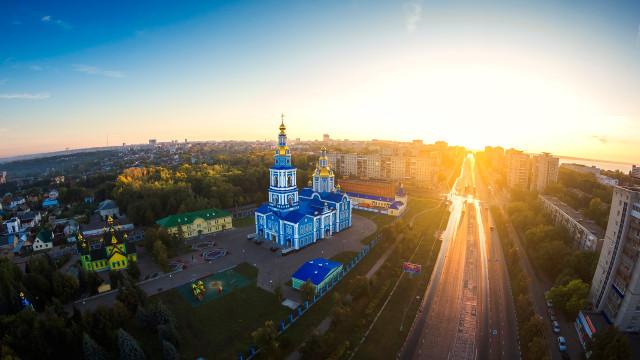Minaeva street, Ulyanovsk, Russian Federation