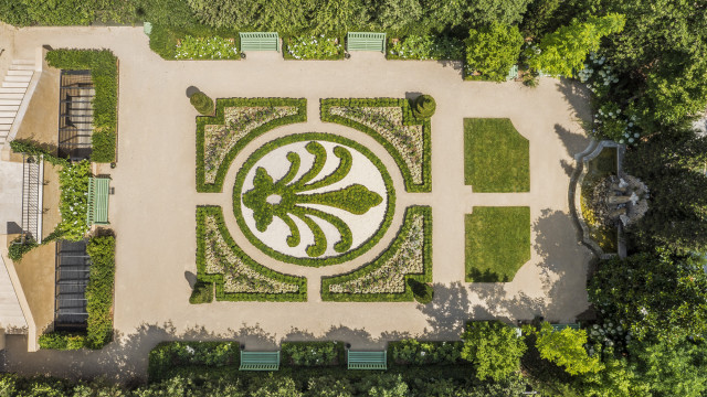 Jardin à la Française in Caumont Centre d'Art