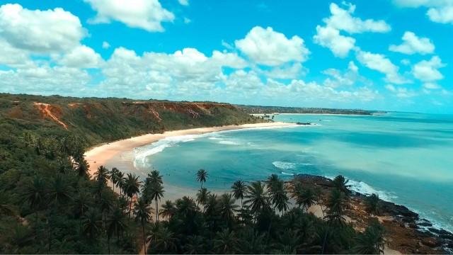 Praia de Coqueirinho, Conde, Paraíba, Brasil