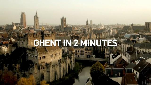 Ghent in 2 minutes, Ghent, Belgium