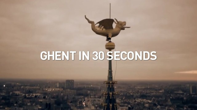 Ghent in 30 seconds, Ghent, Belgium