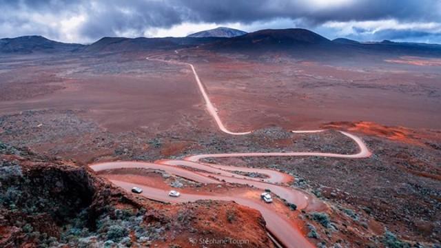 Plaines des sables, Réunion island