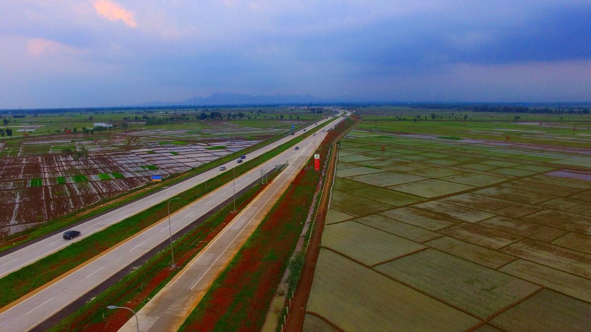 Cipali Toll Road, Cirebon, Indonesia