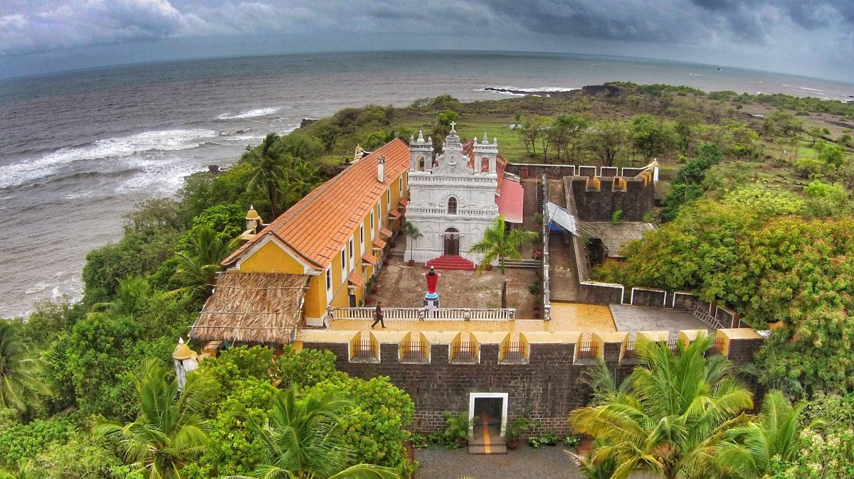 Fort Tiracol, Goa, India