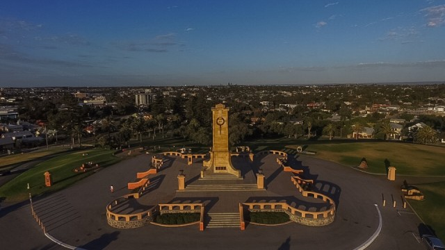 Fremantle war monument, monument hill