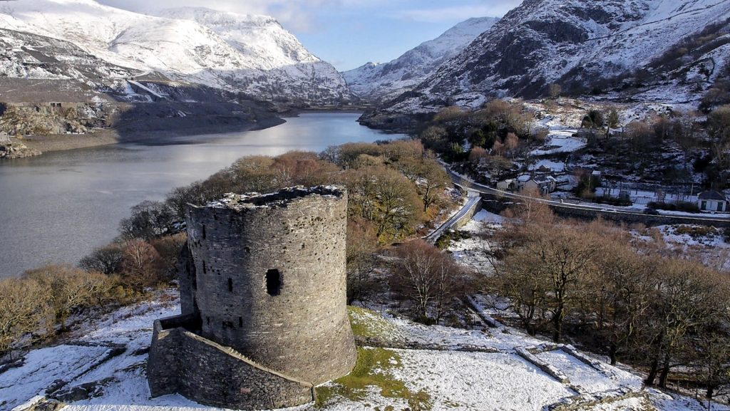 Llanberis United Kingdom  city photo : Dolbadarn Castle, Llanberis, Wales | Dronestagram