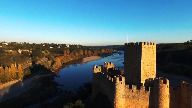 Parrot Bebop @ Almourol and Linhares da Beira Castles