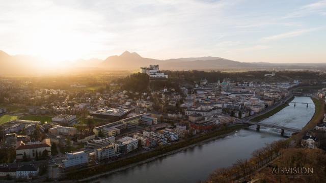 Festung Hohensalzbug Sunset