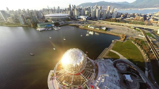 Stanlet Park, False Creek, Vancouver, Canada