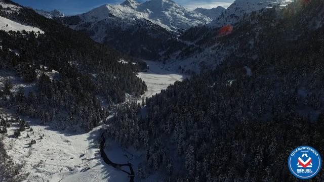 Station de ski de Méribel, Savoie, France