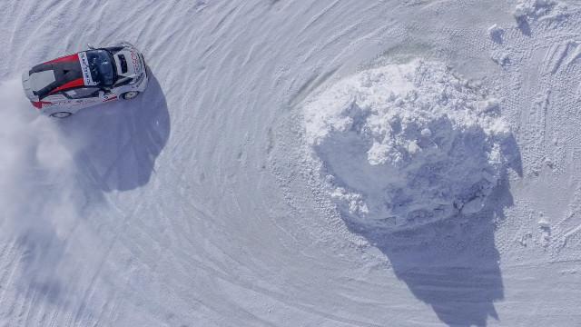 Course sur glace, Serre-Chevalier, France