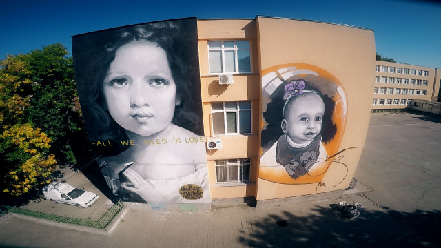 Dimitur Talev scool,Plovdiv,Bulgaria