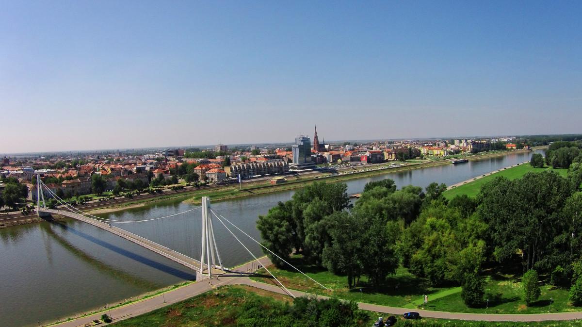 Most mladosti, Osijek, Hrvatska (Croatia)