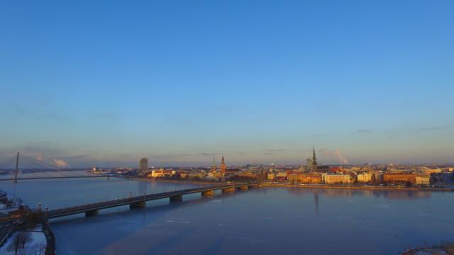 Riga, Mukusalas str. , river Daugava