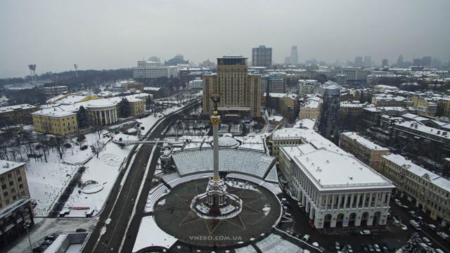 Maidan Nezalezhnosti, Kiyv, Ukraine