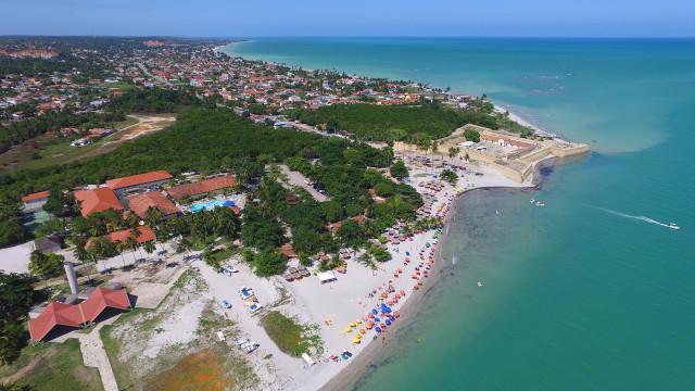Praia do Forte, na Ilha de Itamaracá