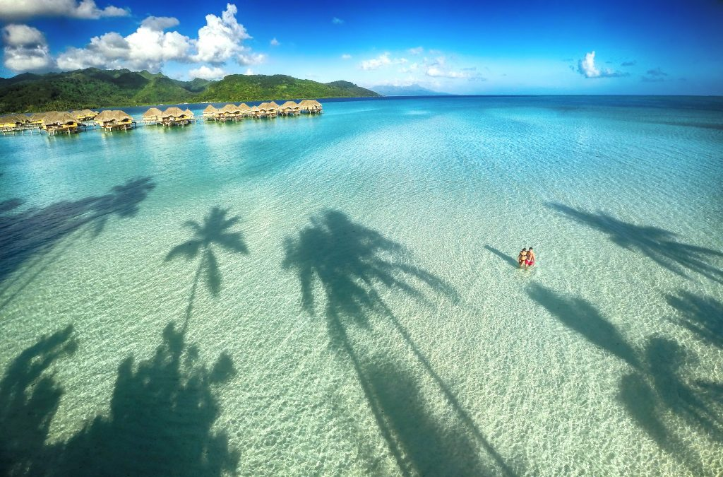 Tahaa French Polynesia  City new picture : Tahaa Resort & Spa, French Polynesia | Dronestagram
