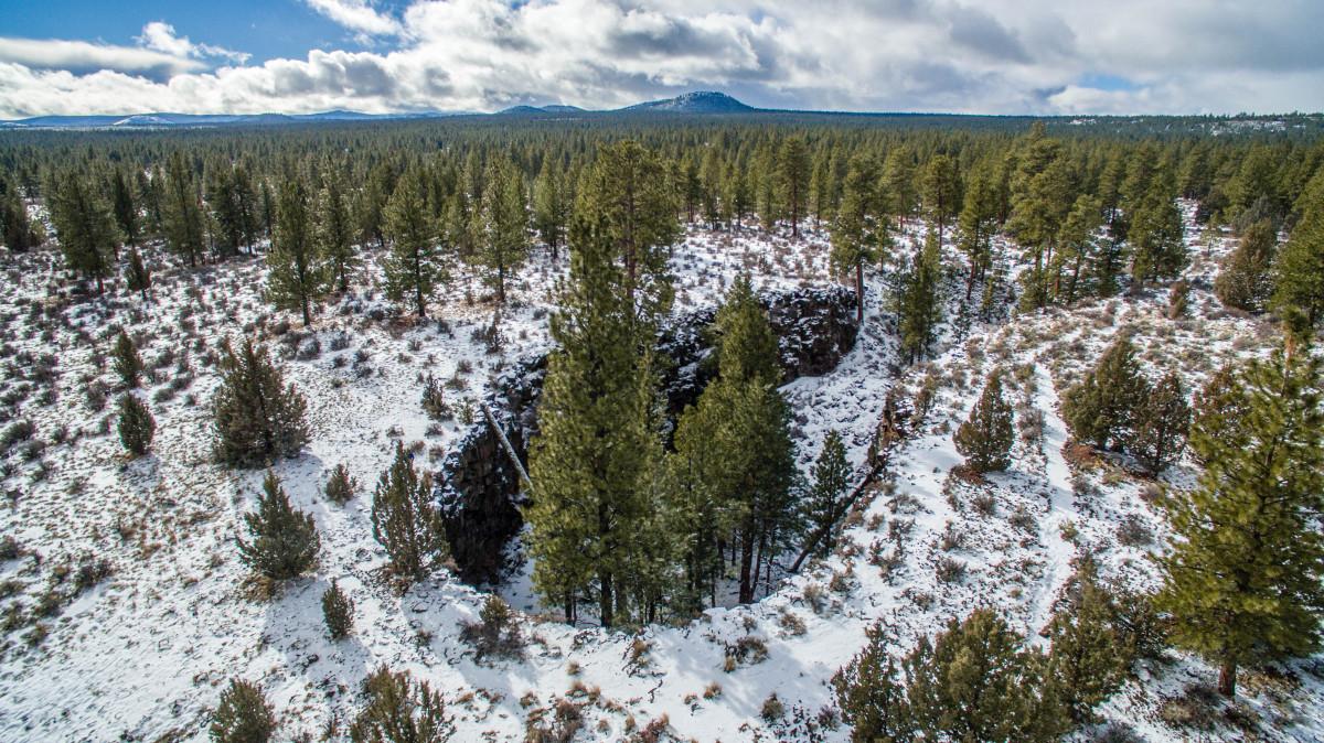 Hidden Forest Cave – Central Oregon – USA