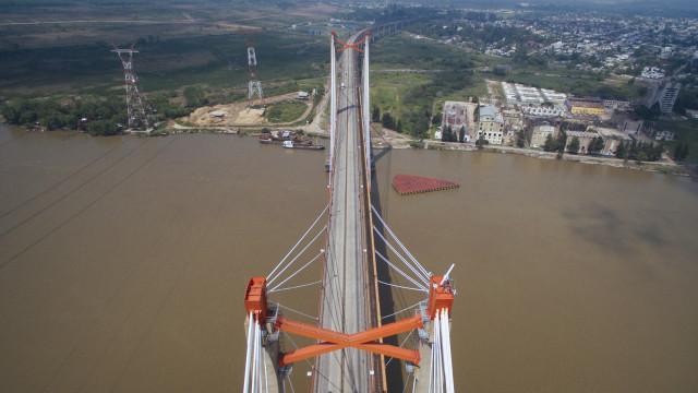 Puente Brazo Largo, Zárate, Buenos Aires, Argentina