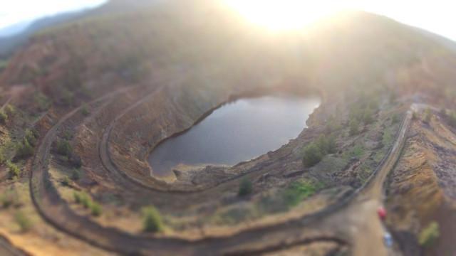 Mitsero Mine Nicosia (Red Lake)