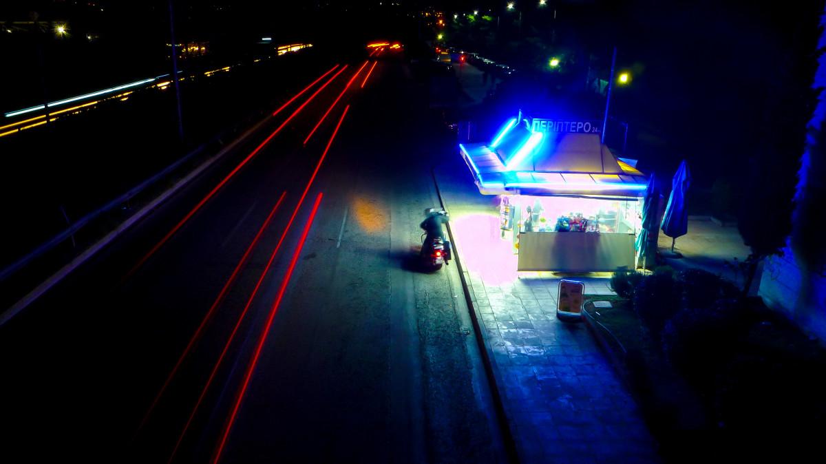 Night Rider,somewhere in Athens…
