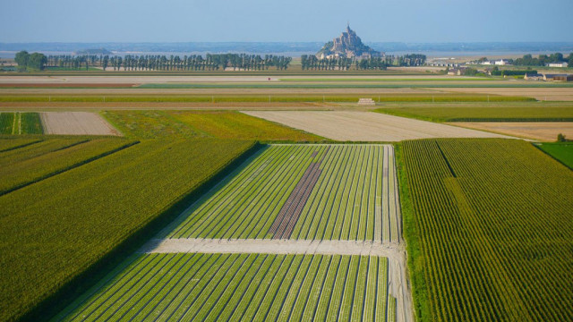 Photo aérienne drone Mont Saint Michel – Technivue
