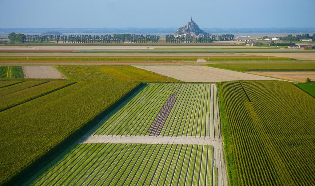 Photo aérienne drone Mont Saint Michel – Technivue