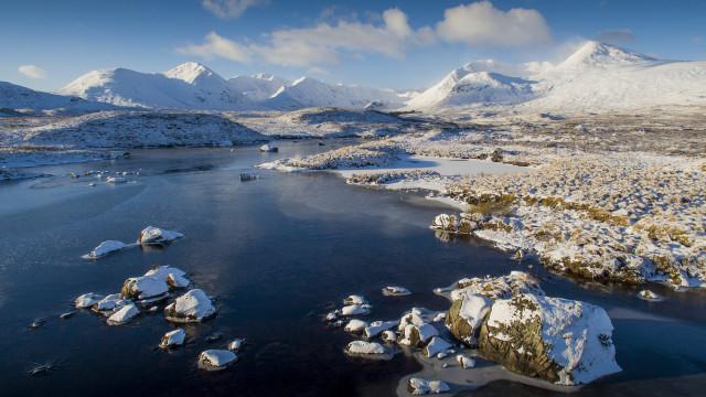 Buachaille Etive Mor – Rannoch Moore – Glen Coe – Scottish Highlands
