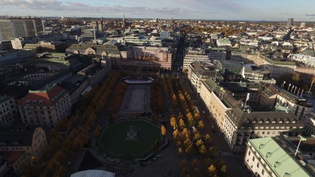 Royal Gardens, Stockholm, Sweden