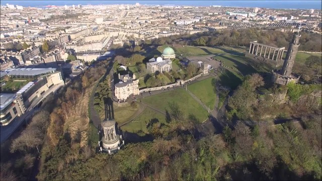 Calton Hill, Edinburgh, UK