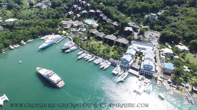 Marigot Bay , Ste Lucie