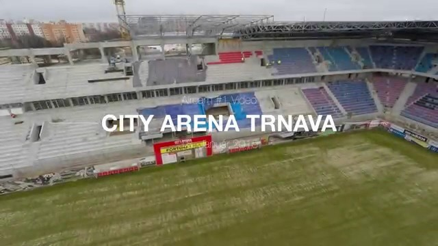 City Arena Trnava #1- Stadium & Shopping Mall Construction (January 18th 2015)