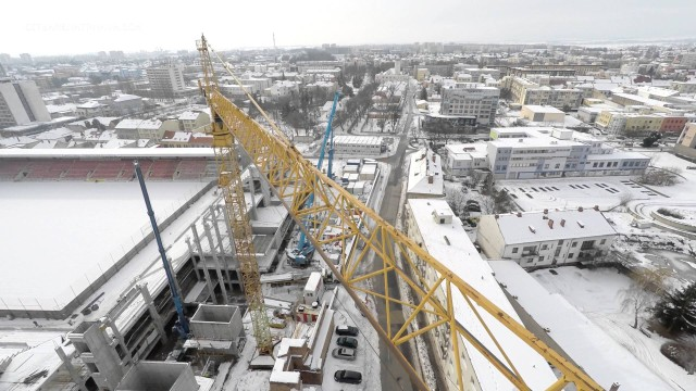 City Arena Trnava #2- Stadium & Shopping Mall Construction (February 1st 2015)