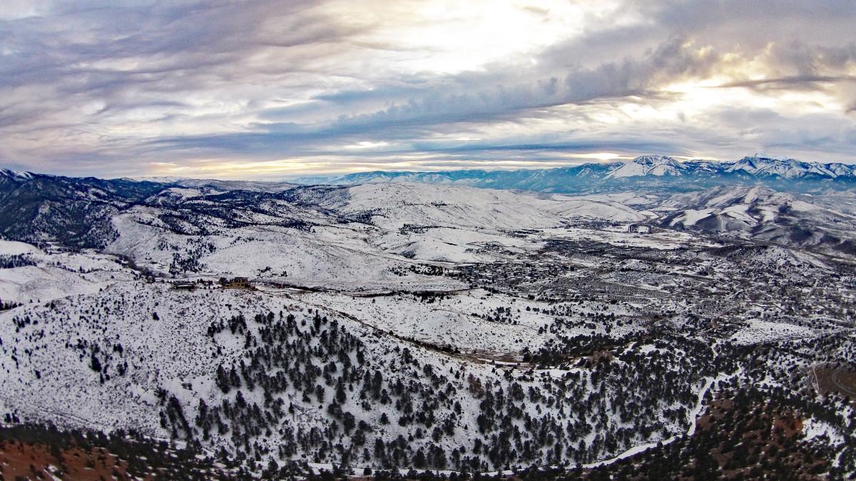Geiger Grade Road, Reno, Nevada, USA