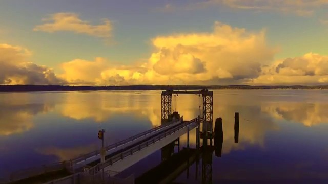 Herron Island Ferry Dock, Lakebay, Washington, USA