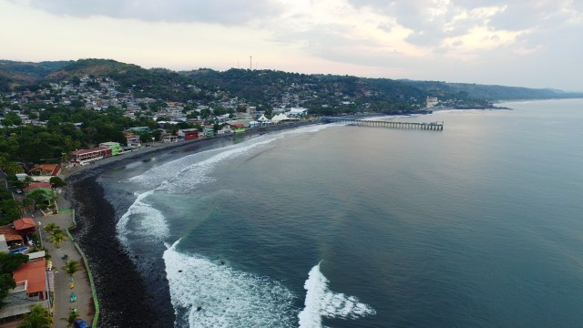 Puerto La Libertad, La Libertad, El Salvador.
