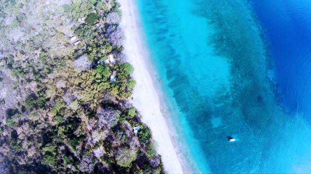 Plage N'gouja, Mayotte