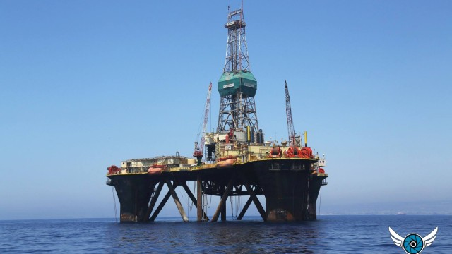 Oil Rig Cyprus
